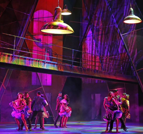 Photo Flash: First Look at Paramount Theatre's Sweeping WEST SIDE STORY