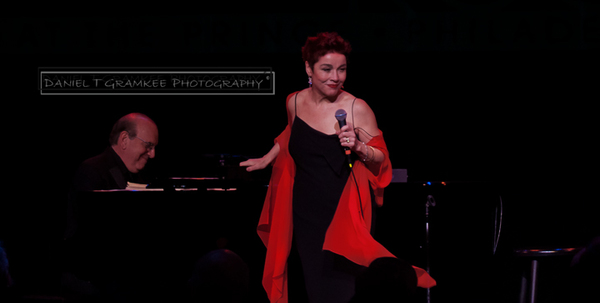 Christine Andreas & Martin Silvestri take the RRAZZ ROOM stage, © Daniel T Gramkee