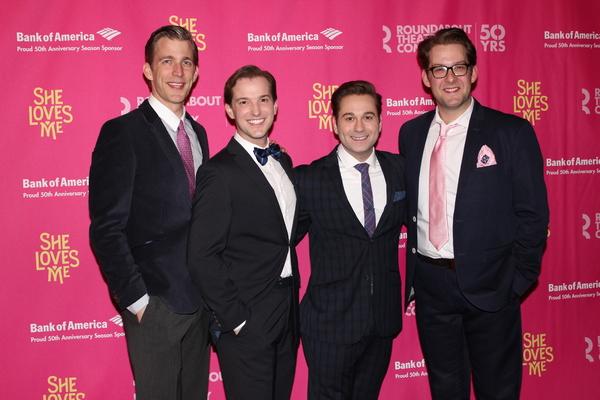 Benjamin Eakeley, Justin Bowen, Michael Fatica and Andrew Kober Photo