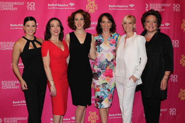 Sara Edwards, Cameron Adams, Alison Cimmet, Laura Shoop, Jenifer Foote and Gina Ferrall
