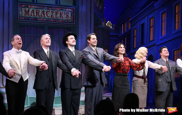 Peter Bartlett, Byron Jennings, Gavin Creel, Zachary Levi, Laura Benanti, Jane Krakowski and Michael McGrath