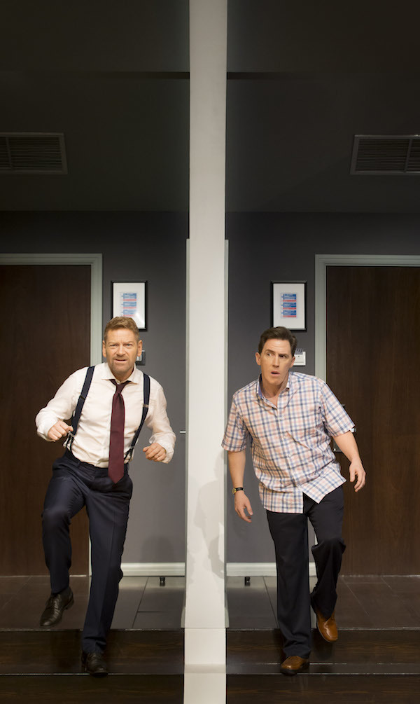 Kenneth Branagh and Rob Brydon