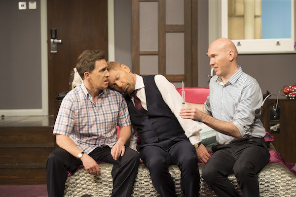 Rob Brydon, Kenneth Branagh and Alex Macqueen