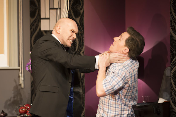 Alex Macqueen and Rob Brydon