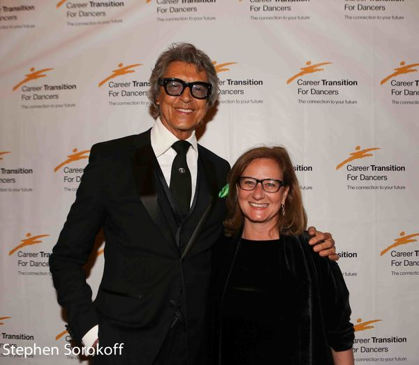 Tommy Tune & Barbara S. Davis, COO The Actors Fund