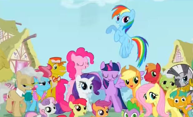 discovery family channel premieres new season of my little pony