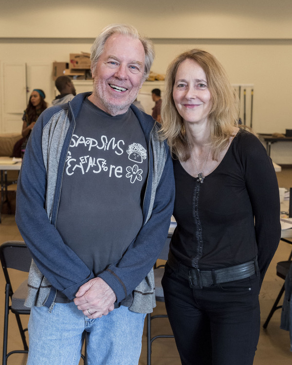 Michael McKean and  Jo Bonney
