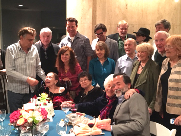 Entertainment Elite gather around Ms. Patricia Morison for her 101st Birthday Photo