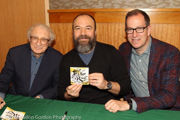 Sheldon Harnick, Danny Burstein and Ted Sperling