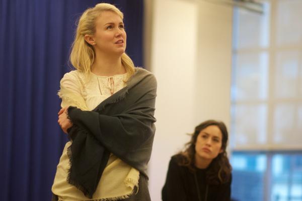 Ginna Claire Mason and Alison Luff