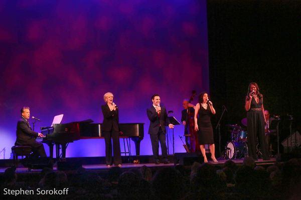 Billy Stritch, Debby Boone, Nicolas King, Gabrielle Stravelli, La Tanya Hall