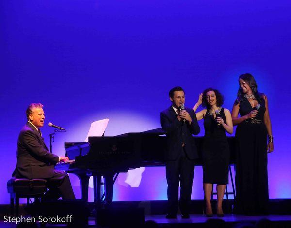 Billy Stritch, Nicolas King, Gabarielle Stravelli, La Tanya Hall