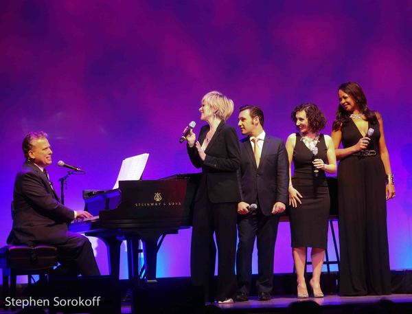 Billy Stritch, Debby Boone, Nicolas King, Gabrielle Stravelli, La Tanya Hall