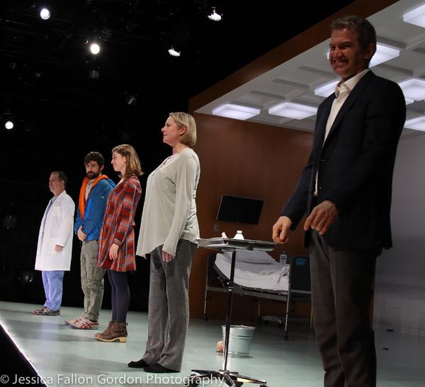 George Demas, Carter Hudson, Susannah Flood, Kati Brazda and Steve Key Photo