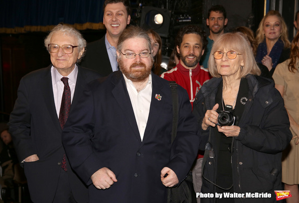 Sheldon Harnick with Margery Gray and son with Warren Carlyle