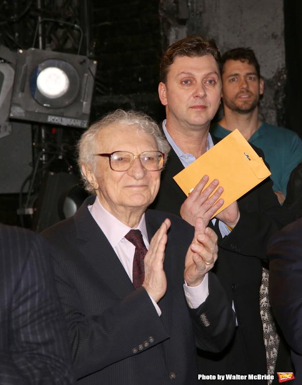 Sheldon Harnick and Warren Carlyle