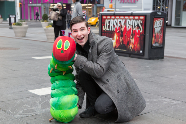 Photo Flash: AVENUE Q Celebrates World Puppetry Day in Times Square