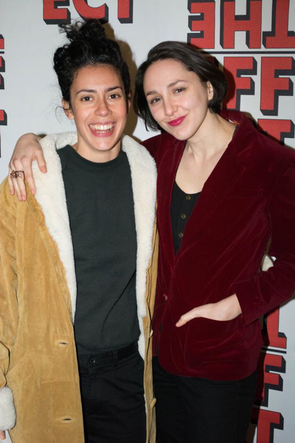 Roberta Colindrez and Lauren Patten