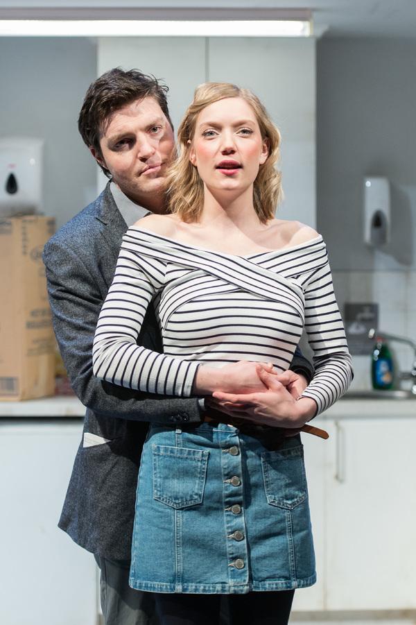 Robyn Addison (Carly) and Tom Burke (Greg)
