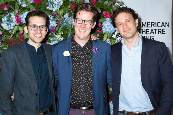 Adam Chanler-Berat, Sam Salmond, Eric William Morris