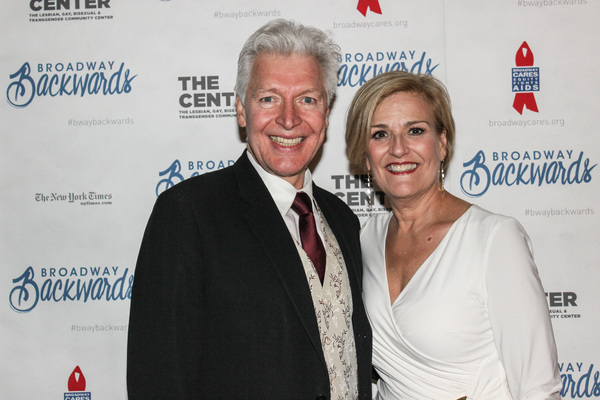 Tony Sheldon and Karen Mason