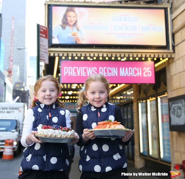 Photo Coverage: WAITRESS Welcomes Adorable Duo, Claire & McKenna Keane; Previews Begin Tomorrow!