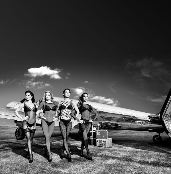 Jennifer Dunne, Angel Reda, Naomi Kakuk and Maria Alexis Rodriguez