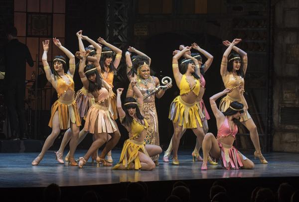 'Too Darn Hot' - Kenita R. Miller and the ensemble