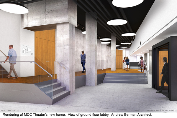 Photo Flash: MCC Theater Breaks Ground on New Home with Help from Zachary Quinto and More