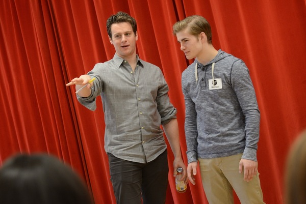 Photo Flash: HAMILTON's Jonathan Groff Leads Broadway Workshop Master Class