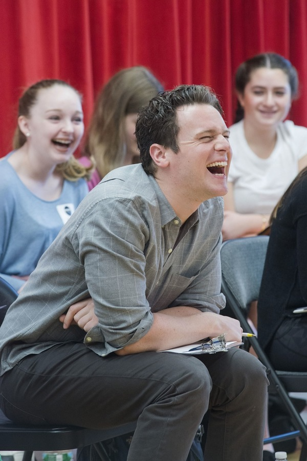 Photos: HAMILTON's Jonathan Groff Leads Broadway Workshop Master Class