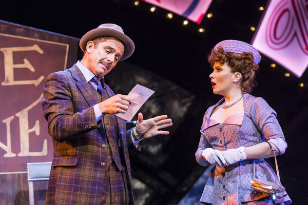 Maxwell Caulfield (Nathan Detroit) and Louise Dearman (Adelaide)