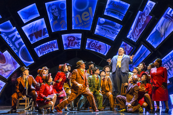 Photo Flash: First Look at Richard Fleeshman, Maxwell Caulfield, Louise Dearman and More in GUYS AND DOLLS UK Tour