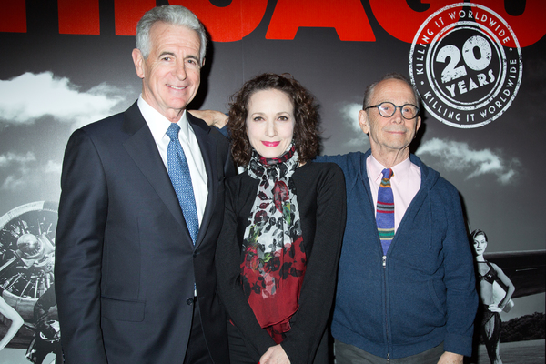 James Naughton, Bebe Neuwirth, Joel Grey