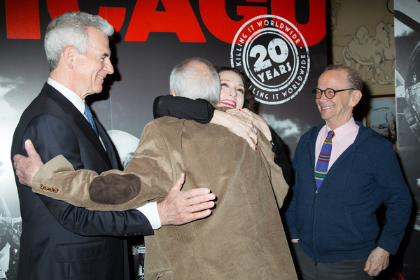 James Naughton, John Kander, Bebe Neuwirth, Joel Grey