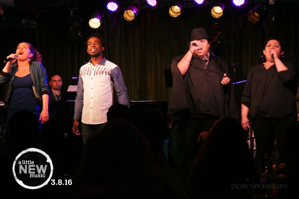 Photo Flash: Chris Farah Hosts A LITTLE NEW MUSIC 11 at Rockwell: Table & Stage