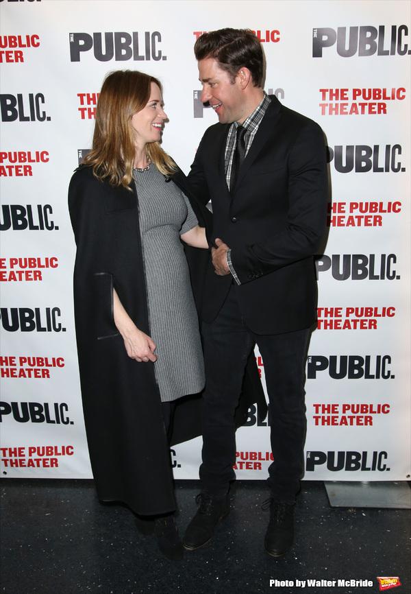 Emily Blunt and John Krasinski  Photo