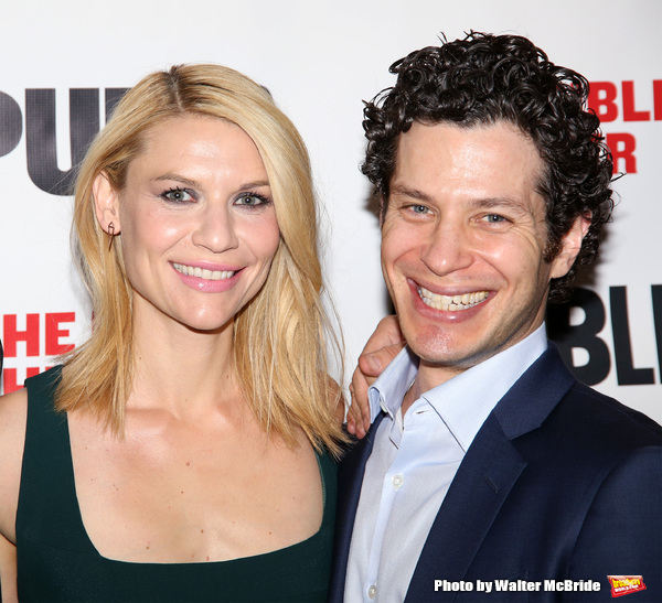 Claire Danes and Thomas Kail