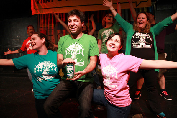 Photo Flash: First Look at Barrel of Monkeys' THAT'S WEIRD, GRANDMA: THE MUSICAL