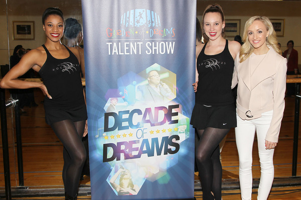 Nastia Liukin with Rockettes