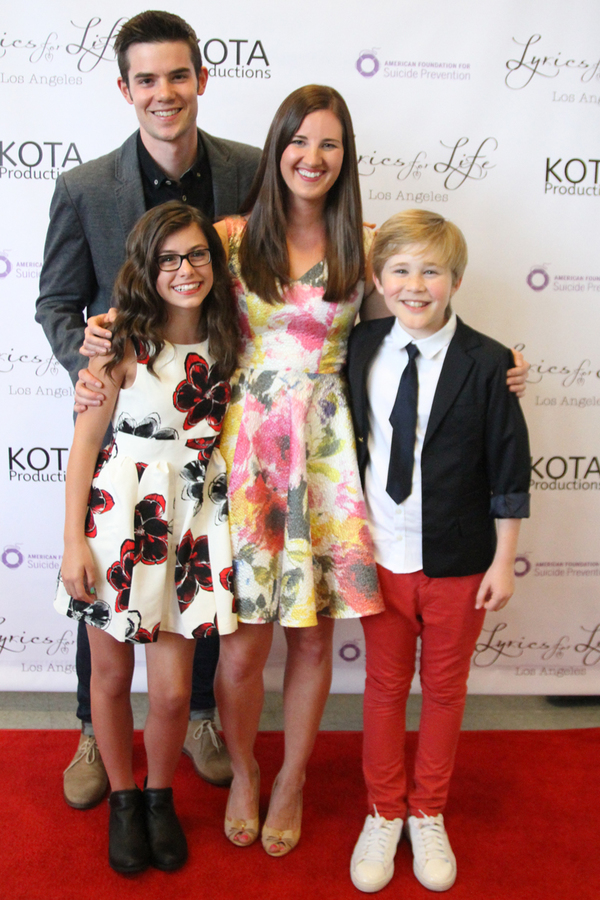 Edward Bell (Music ), Madisyn Shipman, Laura Luc, Casey Simpson Photo