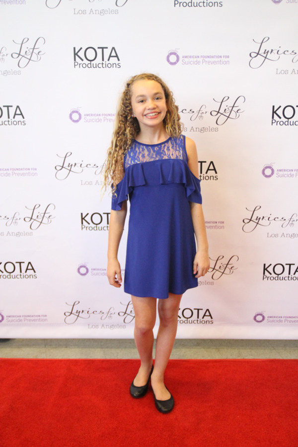 Photo Flash: Madisyn Shipman, Casey Simpson and More Walk the Red Carpet at KOTA's LYRICS FOR LIFE