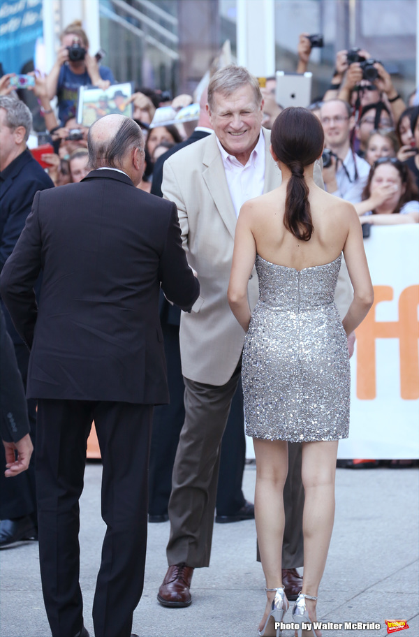 Ken Howard with Robert Duvall and wife attends the premiere of ''The Judge'' at Roy Thomson Hall on September 4, 2014 in Toronto, Canada.