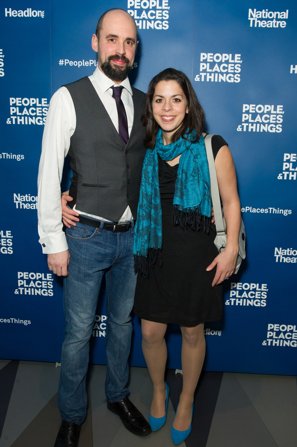 Photo Flash: PEOPLE, PLACES & THINGS Celebrates Opening Night at Wyndham's Theatre