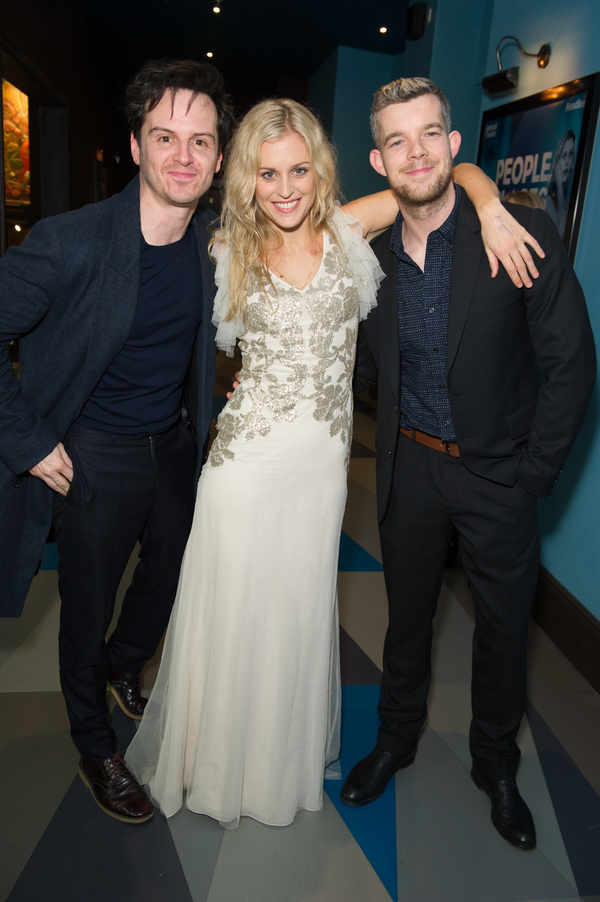 Andrew Scott, Denise Gough and Russell Tovey