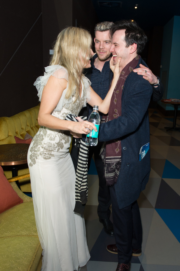 Denise Gough, Russell Tovey and Andrew Scott