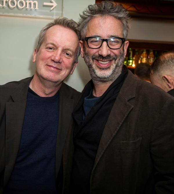 Frank Skinner and David Baddiel