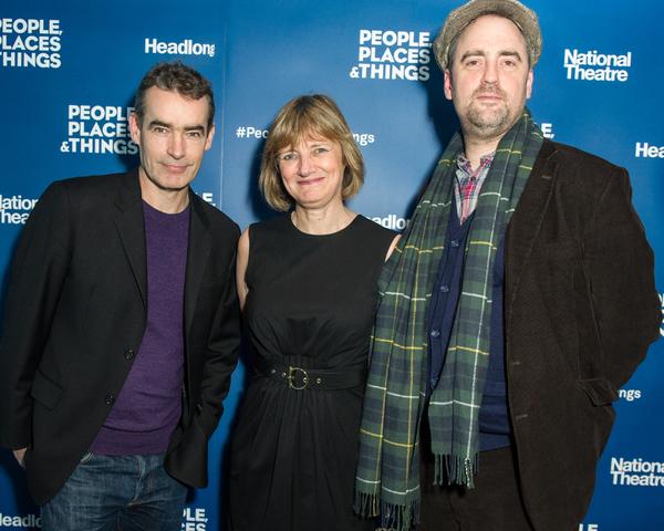 Rufus Norris, Lisa Burger and Jeremy Herrin