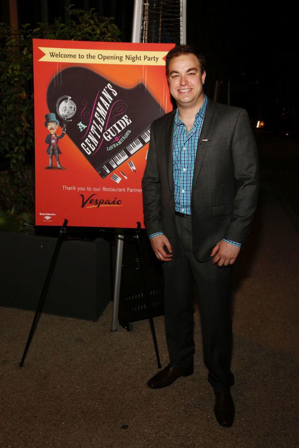 Photo Flash: Red Carpet Arrivals at A GENTLEMAN'S GUIDE in LA - Darren Criss, Shoshana Bean, Jane Kaczmarek and More!