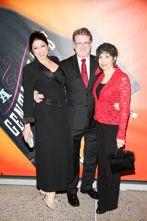 Peggy Hickey, Robert L. Freedman and Jean Kauffman